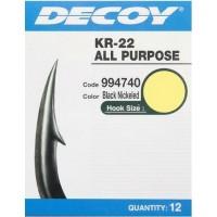 Крючок Decoy KR-22 Black Nickeled