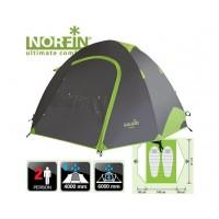 Палатка 2-х мест. Norfin SMELT 2 ALU 4000мм / AL