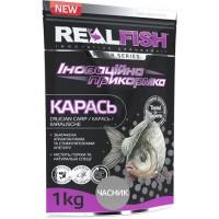 Прикормка Realfish Карась Чеснок