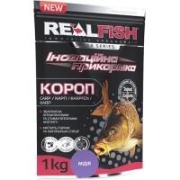 Прикормка Realfish Карп Мидии