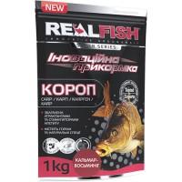 Прикормка Realfish Карп Кальмар-Осьминог