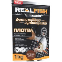 Прикормка Realfish Плотва Кориандер Арахис