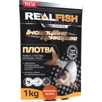 Прикормка Realfish Плотва Ваниль Миндаль