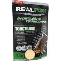 Прикормка Realfish Толстолоб Топленое Молоко
