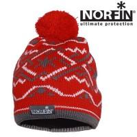 Шапка вязаная женская Norfin Women NORWAY RED