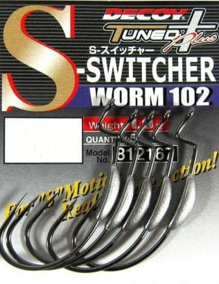 Крючок Decoy Worm 102 S-Switcher